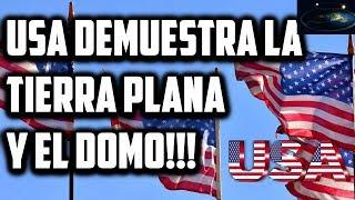 Ejército de los EEUU demostró el DOMO y la Tierra Plana!