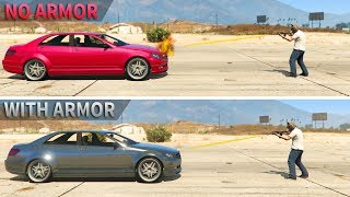 GTA V - Is car Armor upgrade worth it?