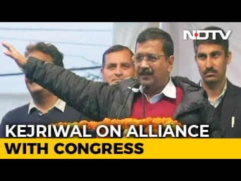 """""""They've Nearly Said No"""": Arvind Kejriwal On Alliance With Congress"""
