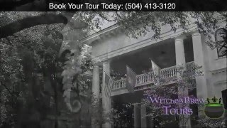Witches Brew Ghost Tours - (504) 413-3120