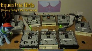 Equestria Girls/Helping Twilight Win The Crown on floppy drives