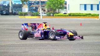 RED BULL RACING F1 - BASE FUERZA AEREA DOMINICANA