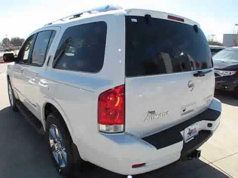 2011 Nissan Armada Platinum Start Up, Exterior/ Interior Review   YouTube
