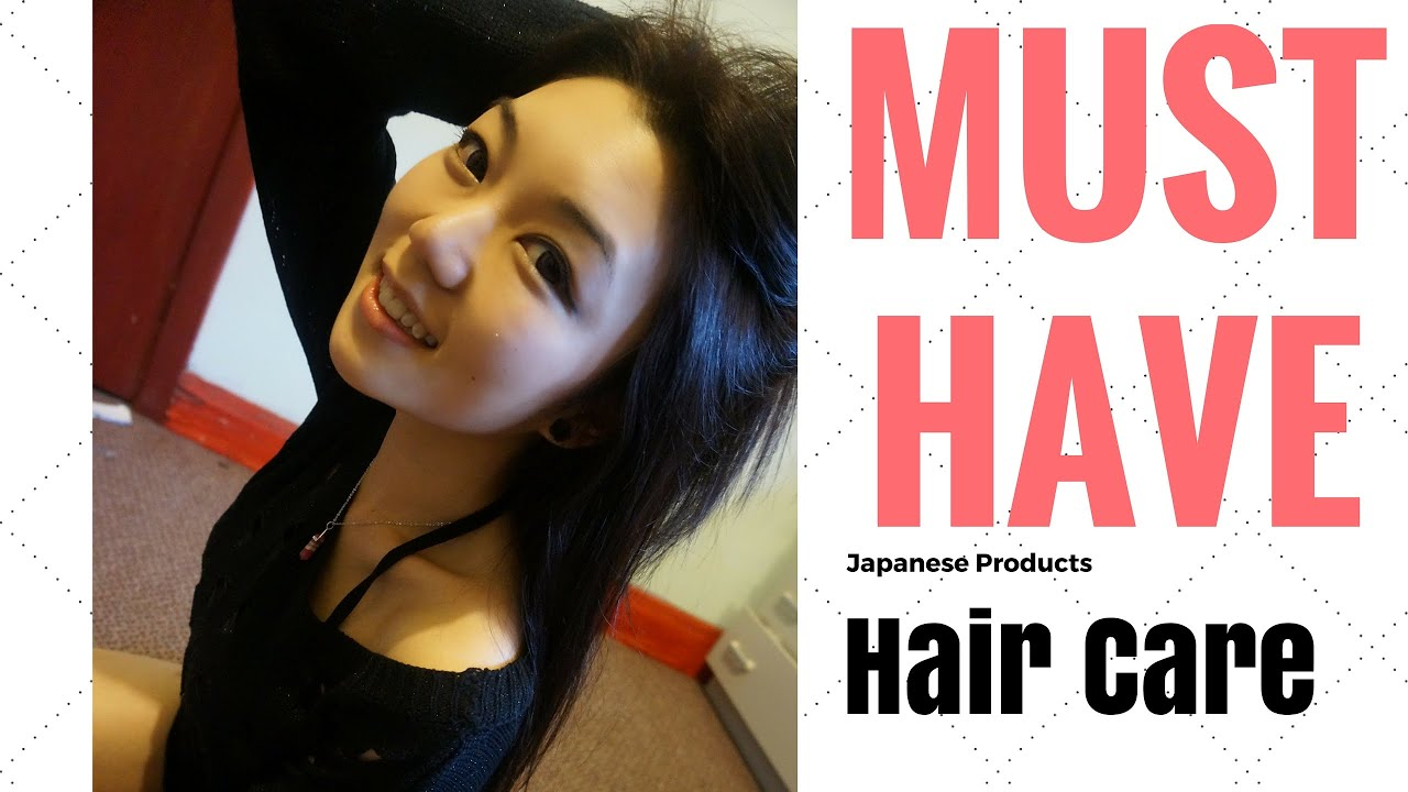 Must Have Japanese Products For Healthy Shiny Hair