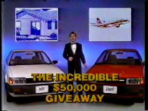 58 CKY/The Winnipeg Sun - The Incredible $50,000 Giveaway (1986)