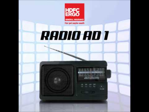 HDFC ERGO Radio Ad Promotes Faster Way To Buy The Policy Online