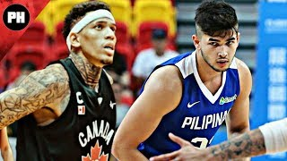 Gilas Pilipinas vs Canada 2017 Jones Cup Extended Highlights