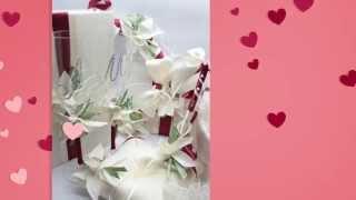 Свадебная ручка с подставкой Gilliann Orchidea PEN003