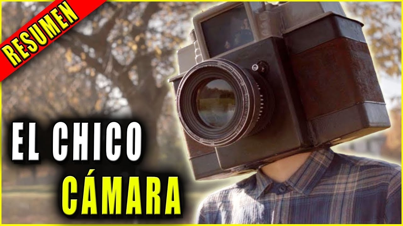 👉 resumen:  CHICO CON CABEZA DE CÁMARA  ( The Boy with a Camera for a Face )  || Ahora te cuento