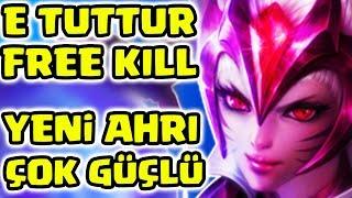 AHRİ REWORKTEN SONRA ÖPCÜKLERİYLE TAŞIYOR !!! OFF TANK AHRI OP !!! | Apophis