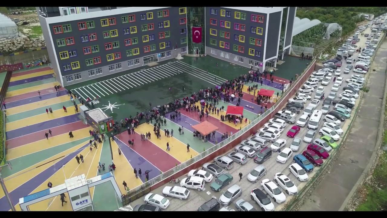 Rekor Katılım, Gaye'nin Bursluluk Sınavına 3 Bin 300 Öğrenci Katıldı