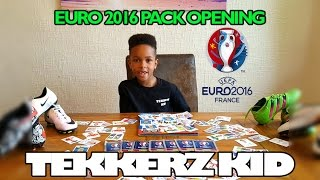 Tekkerz kid | Euro 2016 Sticker Pack Opening!!