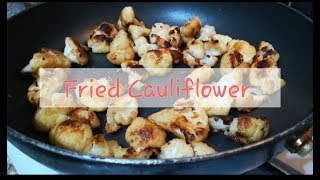 Super tasty fried cauliflower recipe. Super easy and quick recipe. Amazing taste! Must try at home