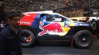 La Peugeot 2008 DKR vista da vivo | Salone di Ginevra 2015