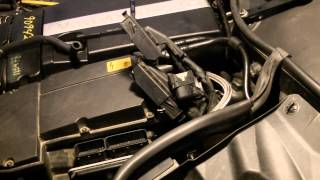 Mercedes C230 Mass Air Flow Removal (MAF) P0170 (M271)