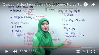 Quipper Video - Kimia - Hidrokarbon 3