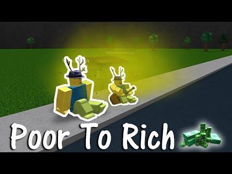 Bloxburg - Poor To Rich (Roblox)