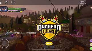 My first video roblox dungeon quest // kaj076