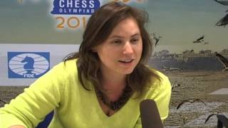 Judit Polgar  Releases her BOOK  .wmv