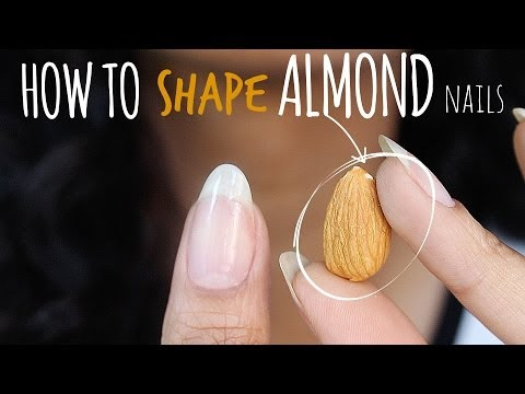 SHAPE PERFECT ALMOND NAILS  abetweene
