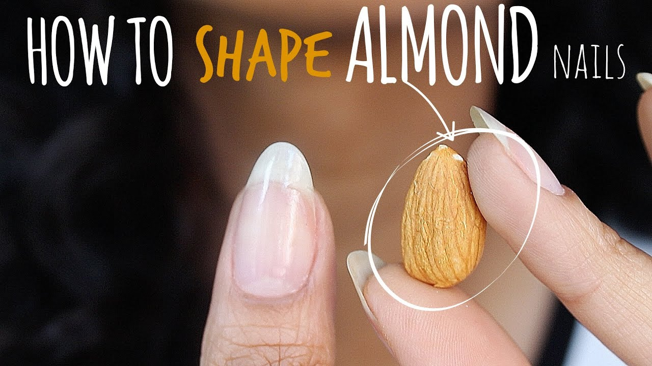 SHAPE PERFECT ALMOND NAILS | abetweene - YouTube