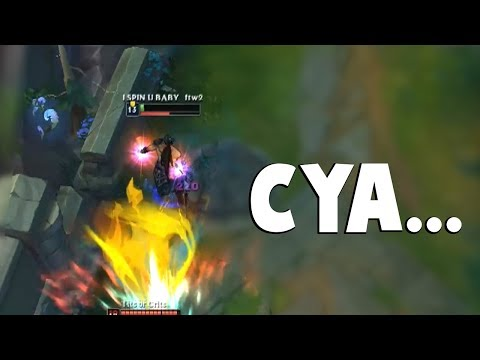 CRAZY COOLDOWNS..HERE'S WHY YOU PLAY AP TRYNDAMERE... | Funny LoL Series #352