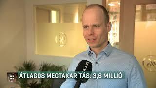 Átlagos megtakarítás: 3,6 millió forint 20-02-20