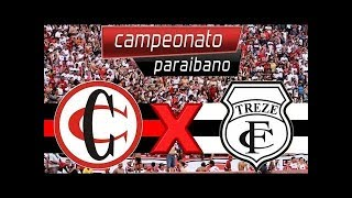 Campinense x Treze ao vivo campeonato paraibano 2019