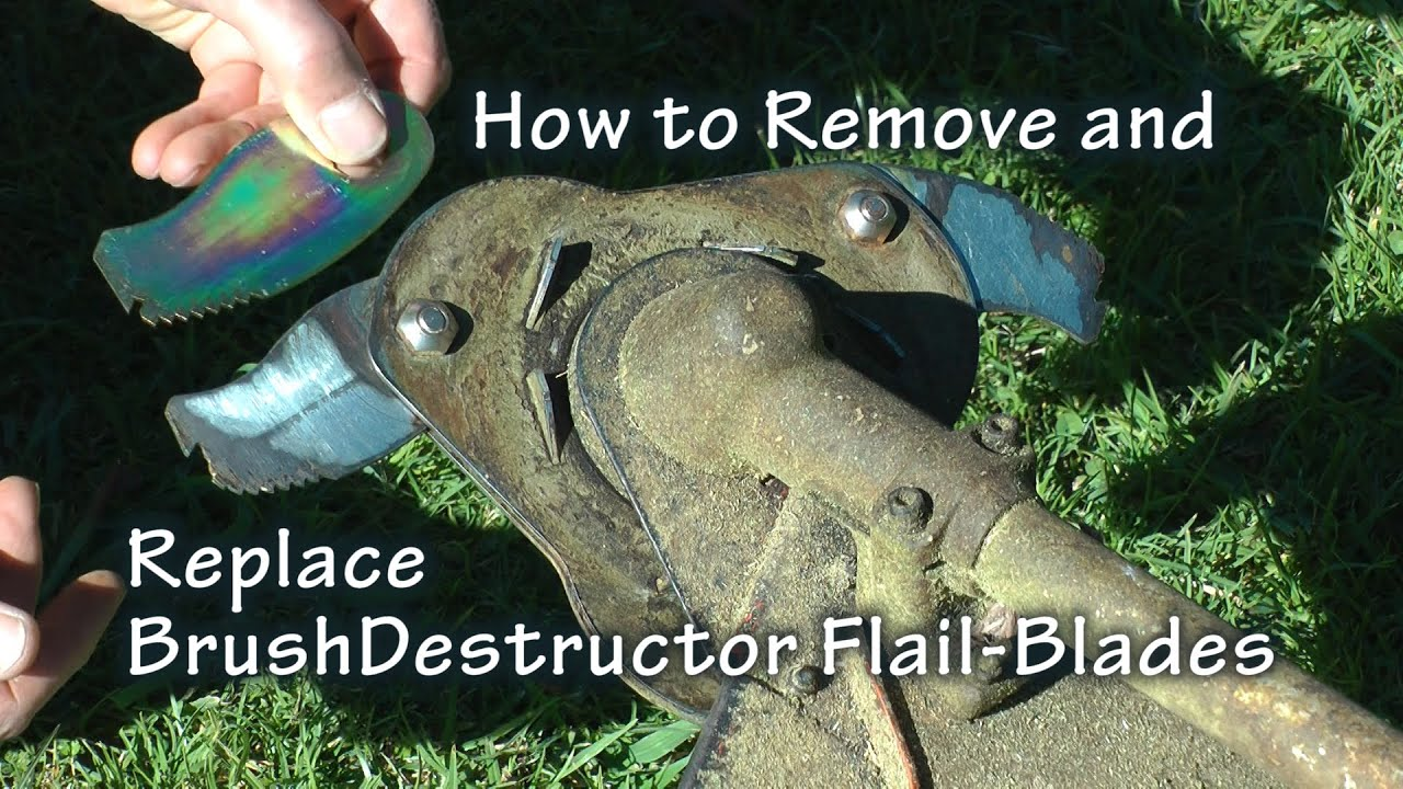 4 1 4 – Remove and Replace Flail-Blades