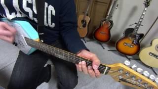 ドラムリズム付きギターVOXのAPACHEを使ってピロウズをカバーしました♪ このギターは2年くらい前に買ったけど初披露かも(^^;)