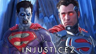 Injustice 2 - All Bizarro vs Bizarro/Superman INTRO DIALOGUES @ 1080p (60ᶠᵖˢ) HD ✔