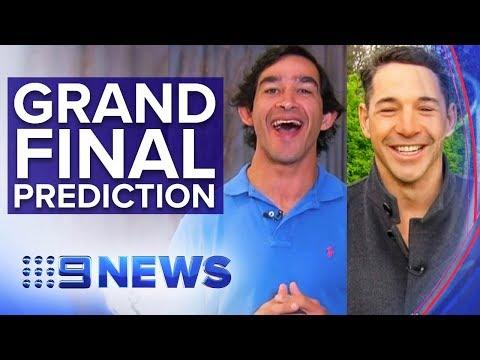 Thurston and Slater predict NRL Grand Final winner | Nine News Australia