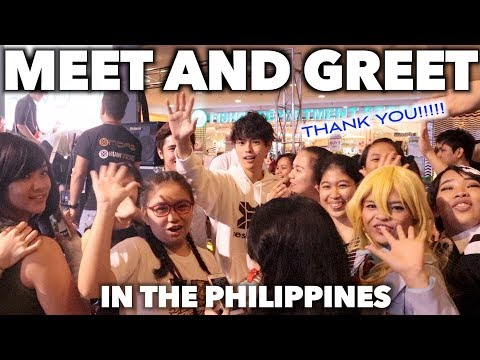 MEET AND GREET IN THE PHILIPPINES!!!!!!!!!!
