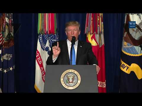 President Trump Gives a Presidential Address to the Nation