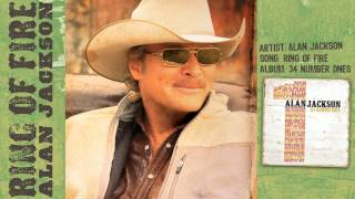 Alan Jackson - RING OF FIRE (audio) YouTube Videos