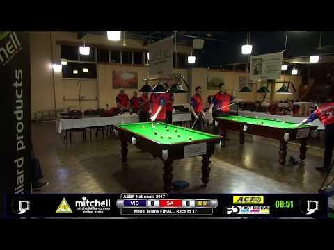 AEBF Nationals 2017 - Mens Teams Final - Victoria v South Australia