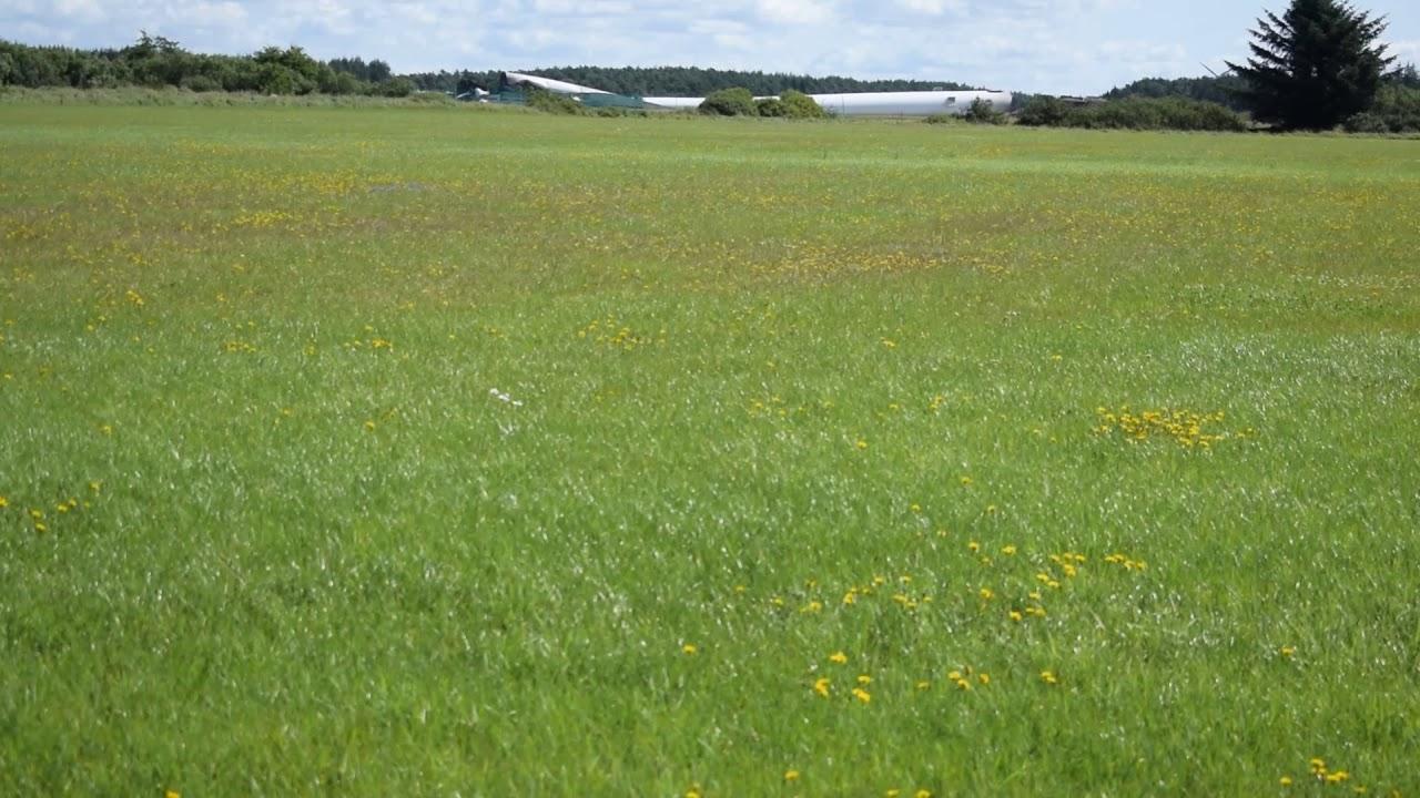 Vindmølle sprængt ned ved Østerild testcenter