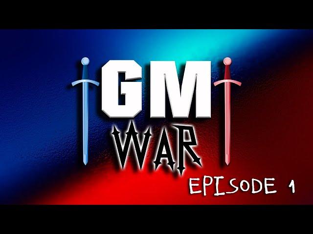 GM War DRAFT DAY | Episode 1