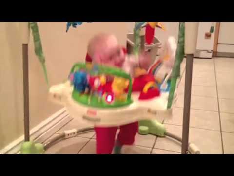 Briana bouncing!!