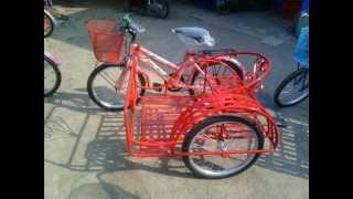จักรยานสามล้อ จักรยาน3ล้อ จักรยานซาเล้ง จักรยานเด็ก จักรยาน ของเล่นเด็ก