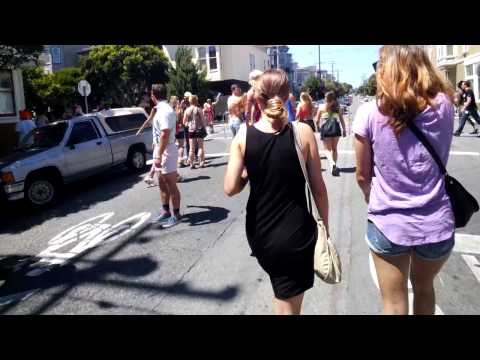 Bay to Breakers, Through the Eyes of Google Glass