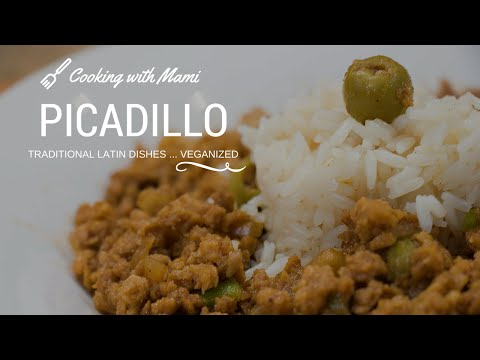 Picadillo - Cooking with Mami | Vegan Recipe # 72