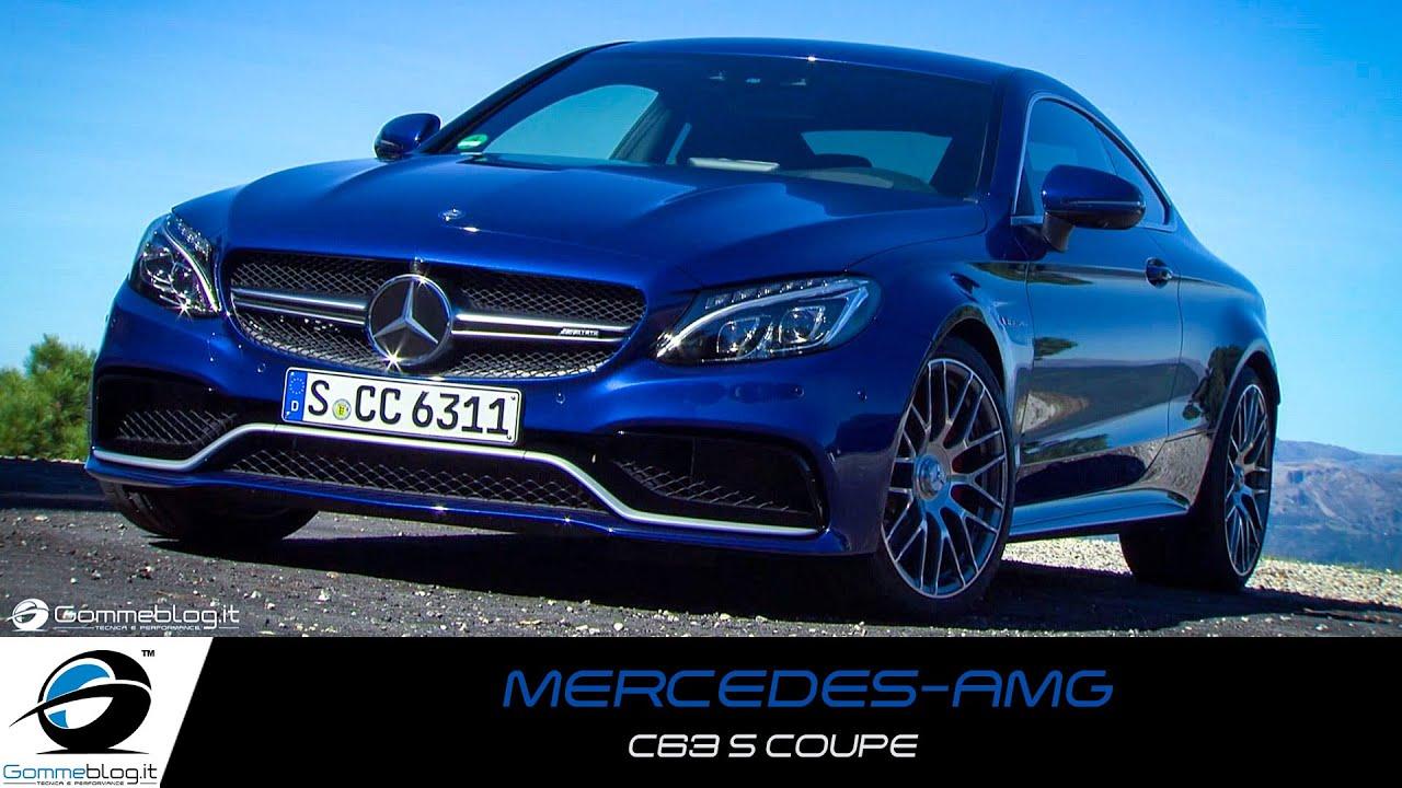 Mercedes AMG C63 S Coupe Cavansite Blue