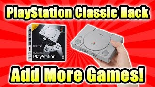 Add More Games Playstation Classic! How To Hack Run Games From USB Video