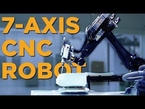 7-Axis CNC Machining Robot at ZOOX - Vlog #39