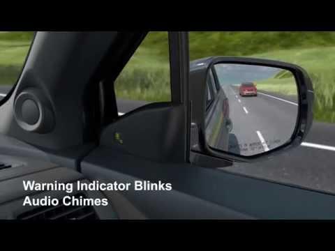 2016 Honda Pilot Blind Spot Information | AutoMotoTV