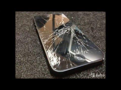 РАзбитые айфоны