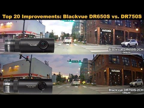 dashcam blackvue 750s 2ch vorne und hinten. Black Bedroom Furniture Sets. Home Design Ideas