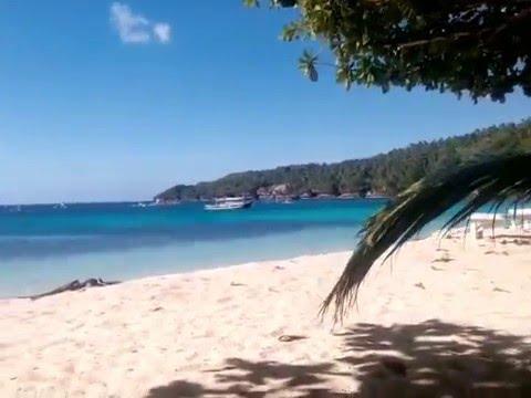 Samalan Camp And Sea Kaputian Samal Island Youtube