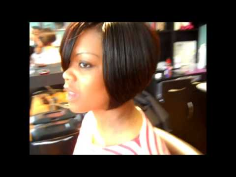 3D Part Bob Hairstyle | Swing Bob Quickweave | Sty - YouTube